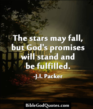 The Stars May Fall, But God's Promises Will Stand And Be Fulfilled ...