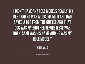 having a role model quotes