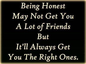 Being Honest quote #2