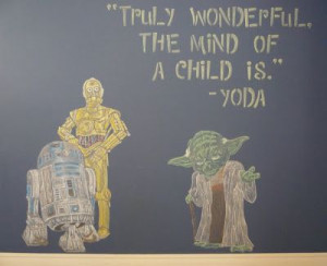 ... Wall - Found the perfect yoda quote to fit my life right now