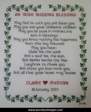 Irish quote wedding