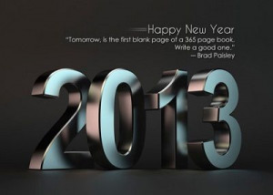With 2014 comes a new chapter in the book of life, Let us make it a ...