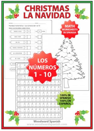 Spanish Numbers 1 10 Worksheets