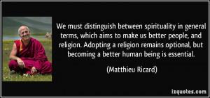 Matthieu Ricard Quote