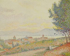 paul signac vue de saint tropez description paul signac 1863