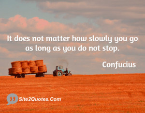 Inspirational Quotes - Confucius