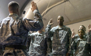 ... promotion ceremony for Soldiers entering the noncommissioned officer