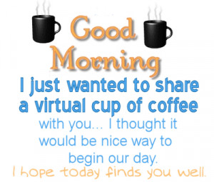 Start Your Day With A Morning Coffee !!!