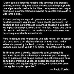 Paulo Coelho Love Quotes In Spanish Paulo coelho