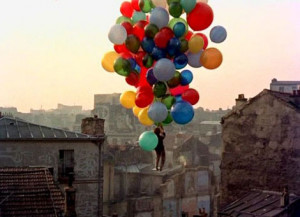 this image is from the movie the Red Balloon. I had the book that ...