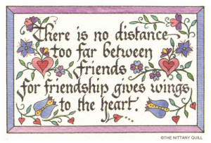 Quotes About Distance Between Friends