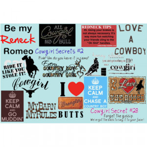 Cowgirl Quotes. - Polyvore