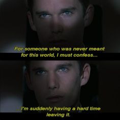 Gattaca, one of my favorite movies - I watched it again tonight, and ...
