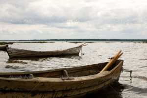 Old Wooden Boats Stock Image