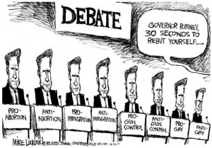 chose this picture because it shows people debating for something.