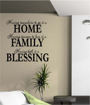 Wholesale Having Somewhere to Go is a Home Quote Family Love Wall ...