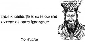 quotes reflections aphorisms - Quotes About Knowledge - Real knowledge ...