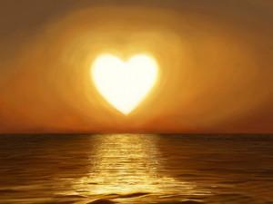 love,heart,heart shape,sun,sea,romantic,sunset,beautiful,sunlight,