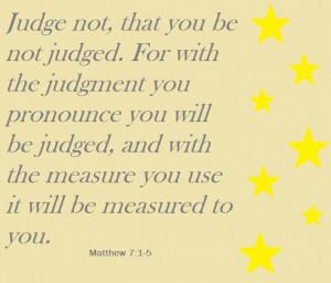 Judge Not #quotes #tattoos