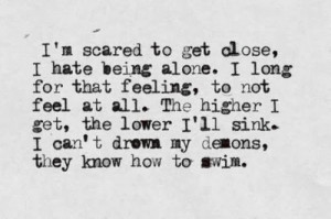 but i hate hate being alone quotes tumblr quotes about being i hate ...