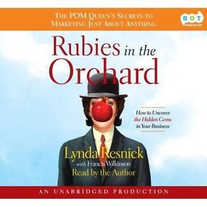 BOOK AUDIOBOOK CD Lynda Resnick Business RUBIES IN THE ORCHARD