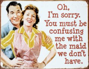 Feminism Funny 50s add spoof