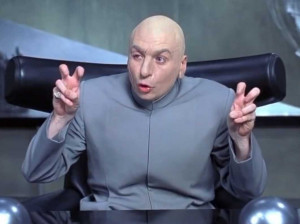 Dr Evil Air Quotes Laser Dr evil air quotes laser