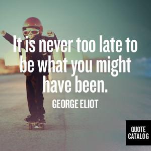 George Eliot on Quote Catalog