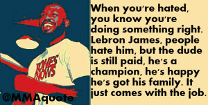 Gangster Quotes About Haters Jon jones on his haters