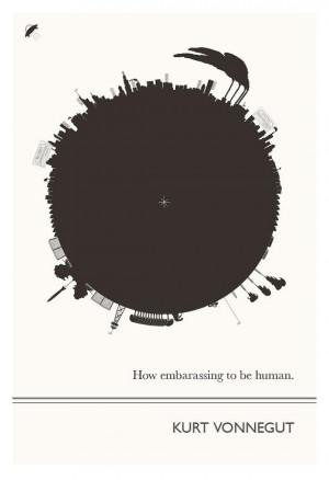 Kurt Vonnegut Art Prints Poster