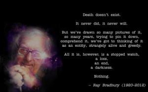 quotes death quote ray bradbury 1920x1200 jpg