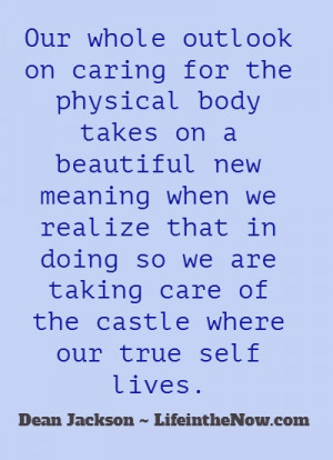 Caring for the Castle ~ LifeintheNow.com