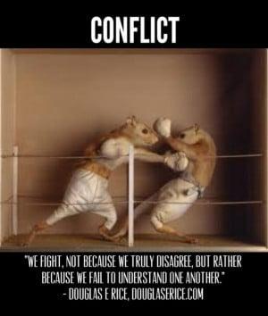 encountering conflict sample essays