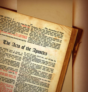 Acts: The book of Acts from The Holy Bible.Please support my workby ...
