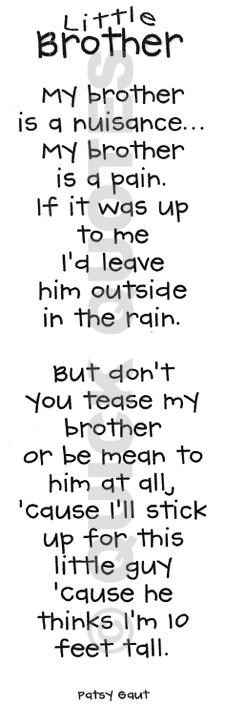 Brother To Brother Quotes Quotes - little brother