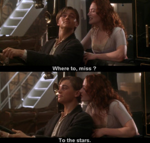 cute, love, movie, quote, scene, titanic