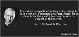 pierre teilhard de chardin quotes with pictures | ... com quote 35132 ...