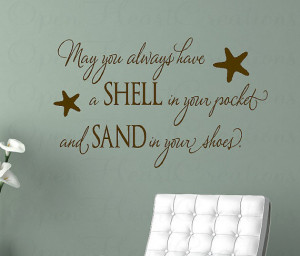 Nautical Quotes And Sayings Beach nautical vinyl wall