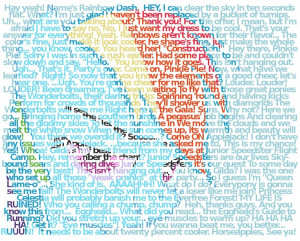 Rainbow Dash quotes without background by Rinsowaty