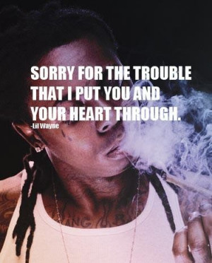 Lil wayne rap quotes and sorry sayings new