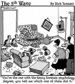 Forensic Psychology Cartoon Nailing forensic psychology: a