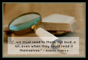 Homegrown Learners - Andrew Pudewa On Reading Aloud.... with FREE ...