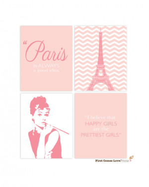 Audrey Hepburn Quote Prints - Any Colors - Teen Girl Wall Art ...