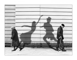 another example of shadow manipulation