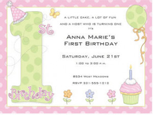 ... 1st birthday invitation wording 600 x 420 70 kb jpeg 1st birthday