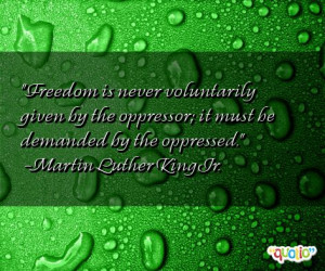 Oppressed Quotes