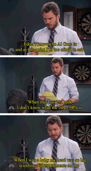 ... finer moments we bring you the best of Chris Pratt in Parks and Rec