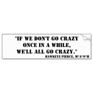 Hawkeye MASH Quotes