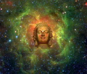 Cosmic Buddha Digital Art