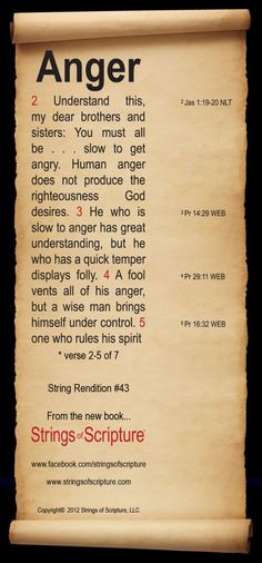 Bible Verses on Anger